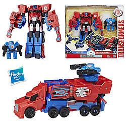 Набор Трансформеры Роботы под прикрытием Активатор Комбайнер Оптимус Прайм Optimus Prime & Hi-Test