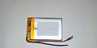 Универсальный аккумулятор (АКБ, батарея) 3.7V 400mAh (5.0*25*35mm), фото 1