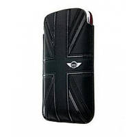 Чехол-карман для iPhone 4/4S - MINI Cooper Union Jack leather sleeve