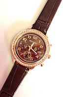 Женские часы SOUSOU, кварцевые коричневые