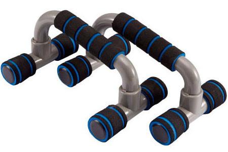 Стойки для отжимания «LiveUp» LS3164E PLASTIC PUSH UP BAR
