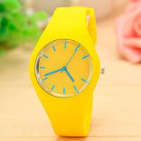 Женские часы Geneva Ice Yellow