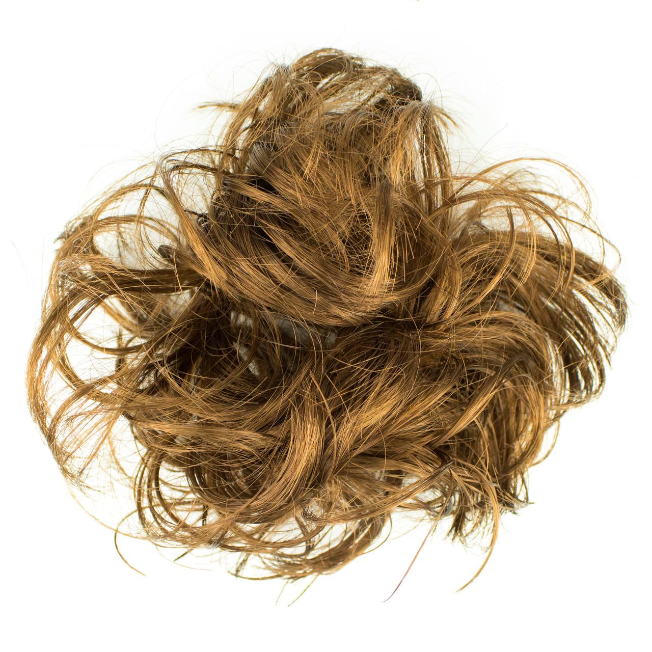 Резинка из синтетических волос русая