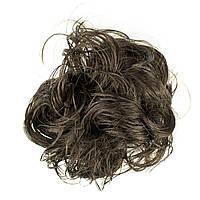 Резинка из синтетических волос шоколад