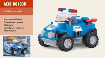 """Конструктор """"Полицейский спецназ"""" (121 деталь) M38-B0183R"""