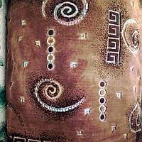 Мебельная ткань велюр Бельгия ковровка на натуральной шелковой основе сублимация 5035, фото 1
