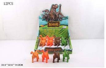 Заводные динозавры (12 штук) 66000