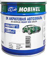 Акриловая эмаль 307 зеленый сад Mobihel 0.75 л