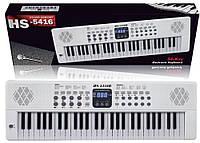 Детский орган ,синтезатор с микрофоном HS-5416B, 200 ритмов