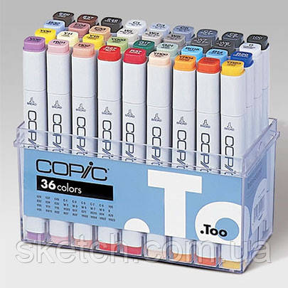 Набор маркеров Copic Marker Basic Set, 36 шт