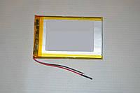 Универсальный аккумулятор ( АКБ / батарея ) 3.7V 2000mAh (3.5*50*72mm), фото 1