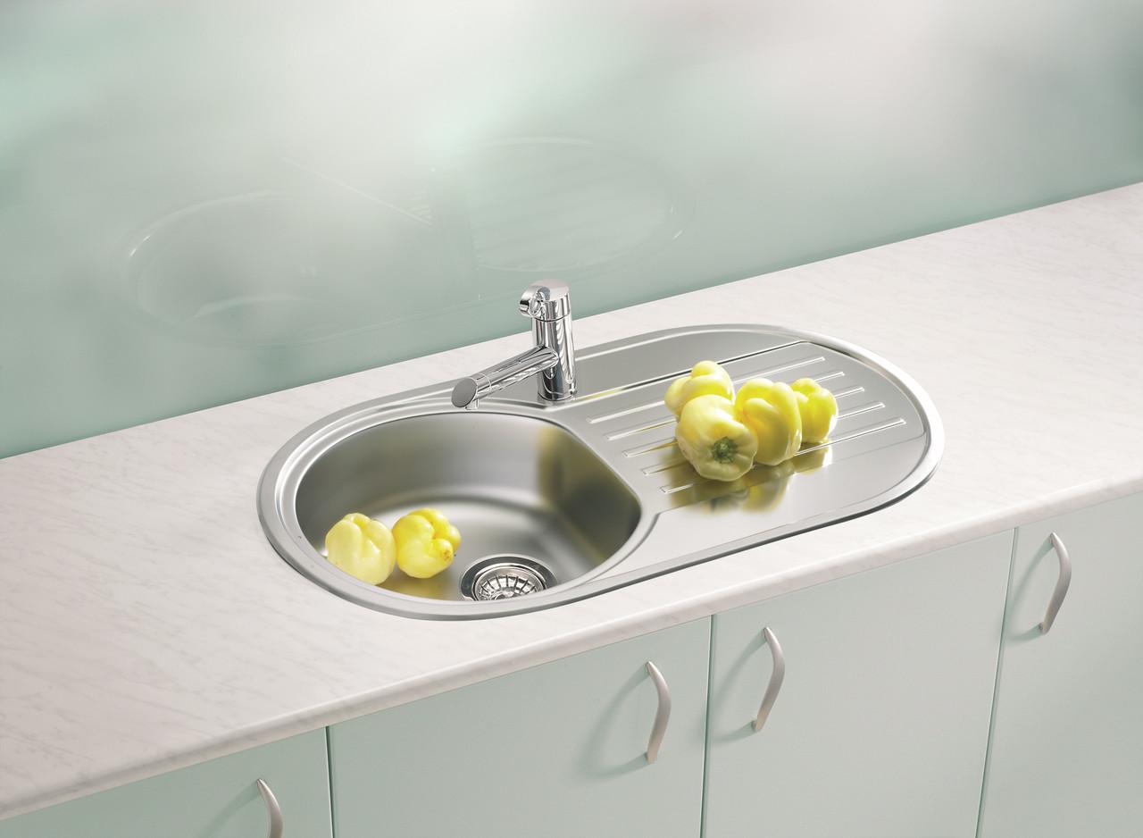 Кухонна мийка Alveus Form 40 I декор 83*44