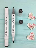 Водостойкий маркер-подводка для бровей и век Christian Double Eyebrow Drawer Pen тон98