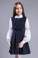 Нарядный школьный сарафан для девочки 140р, фото 1