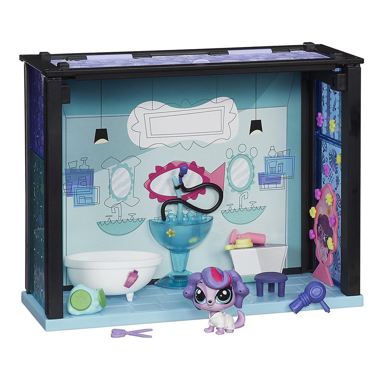 Littlest Pet Shop игровой набор Спа салон Маленький Зоомагазин Spa Style Set