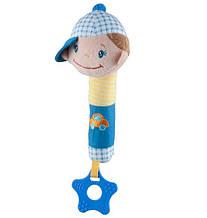 Игрушка пищалка с прорезывателем Baby Ono
