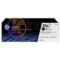 Картридж HP 35A (CB435A), Black, LJ P1005/P1006, 1.5k, OEM