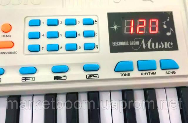 Детский синтезатор, орган для детей с микрофоном