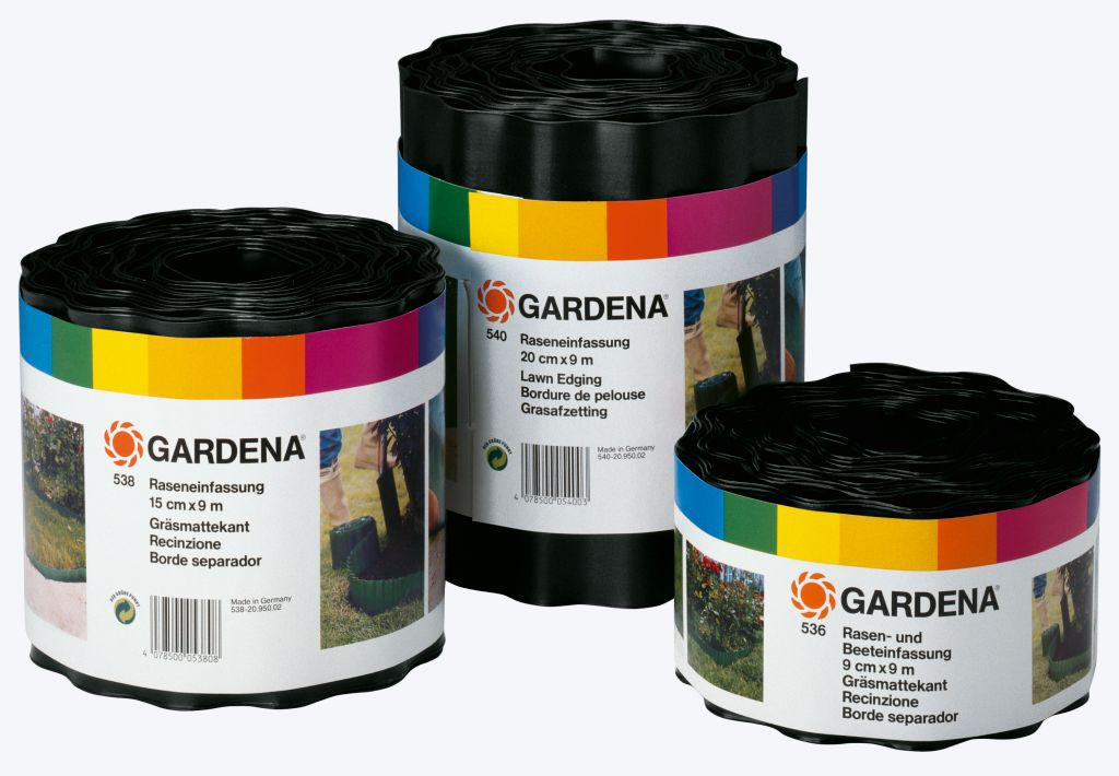 Бордюр GARDENA черный