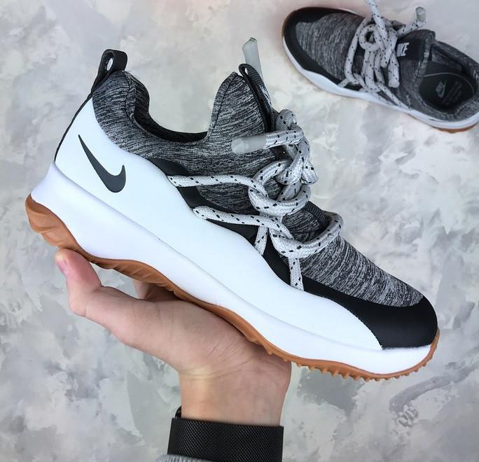 Женские кроссовки Nike City Loop Summit White / Anthracite - Cool Grey. Живое фото. Люкс реплика ААА+