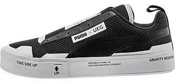 """Мужские кроссовки PUMA UEG x PUMA Court Play """"Black"""" (люкс копия)"""