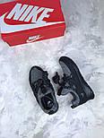 Женские кроссовки Nike City Loop Black / White. Живое фото. Люкс реплика ААА+, фото 3