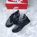 Женские кроссовки Nike City Loop Black / White. Живое фото. Люкс реплика ААА+, фото 5