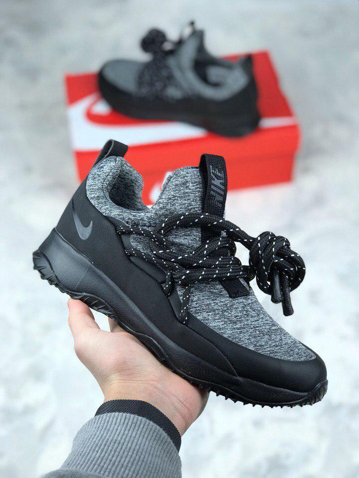 Женские кроссовки Nike City Loop Black / White. Живое фото. Люкс реплика ААА+
