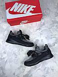 Женские кроссовки Nike City Loop Black / White. Живое фото. Люкс реплика ААА+, фото 6