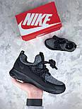 Женские кроссовки Nike City Loop Black / White. Живое фото. Люкс реплика ААА+, фото 7