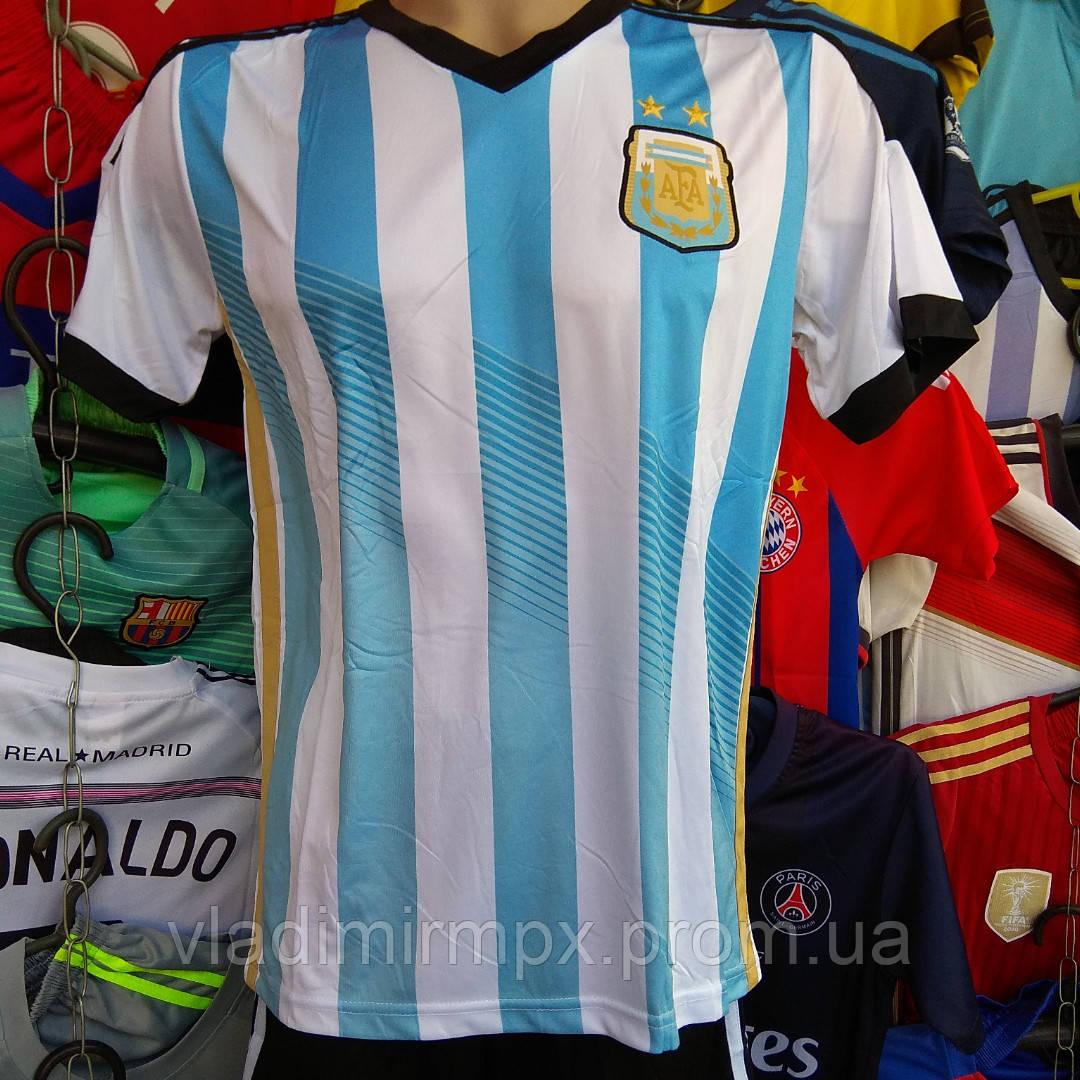 Футбольная Форма для Детей Сборной Аргентины Без Фамилии — в Категории