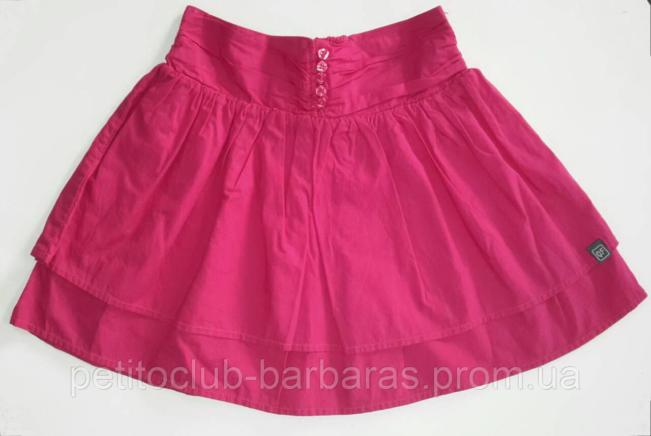 Детская летняя юбка розовая (QuadriFoglio, Польша)