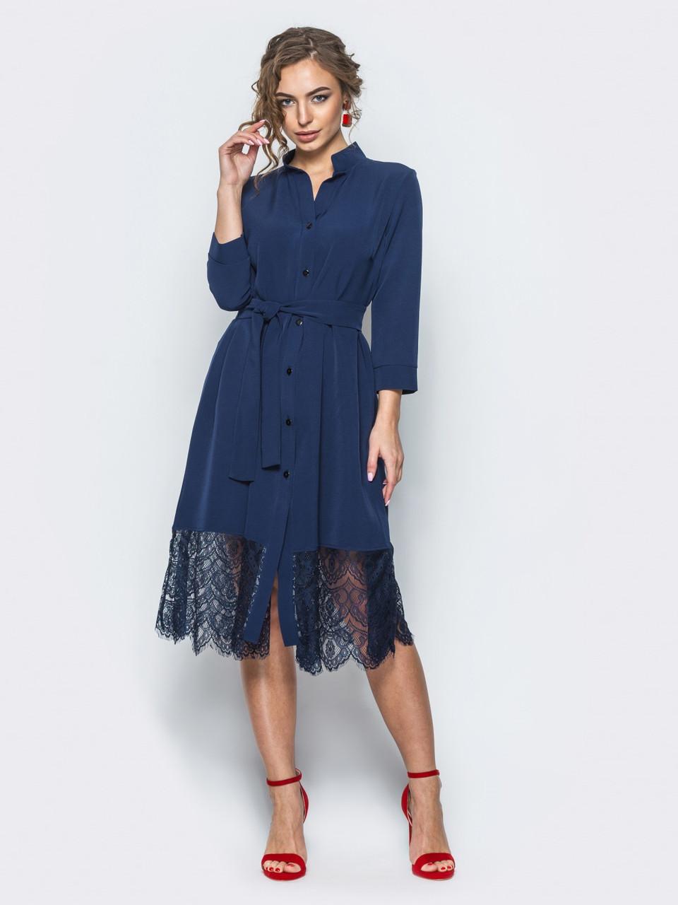 dd21e3c999a2f4 Ошатне плаття приталеного силуету синій розмір 42,44,46,48,50, цена ...