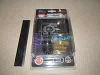 Разветвитель прикуривателя, 3в1, 2USB,1000mA, LED индикатор,  WF-001