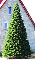 Высотная елка каркасная уличная 9,5 метра (леска ПВХ) Купить у производителя Украина