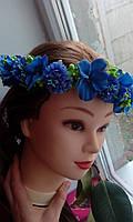"""Венок на голову """"Цветочная фея"""", фото 1"""