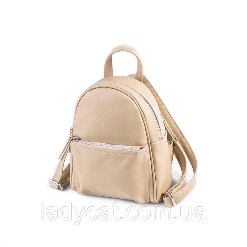 ce04d9692596 Женский маленький рюкзак М160-84, цена 350 грн., купить в Николаеве —  Prom.ua (ID#651278613)