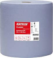 Бумага KATRIN Classic для протирки 380 м - синяя
