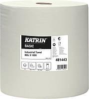 Бумага KATRIN Basic для протирки 380 м - белая