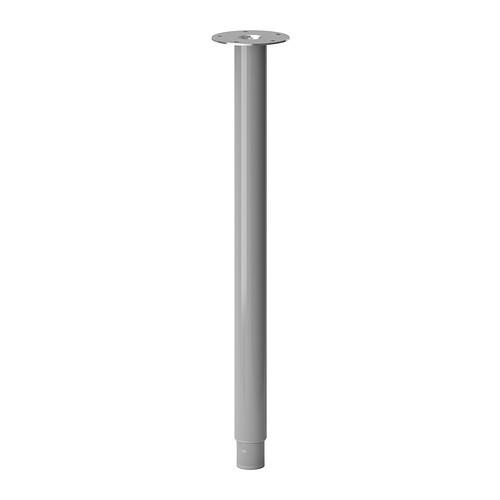 Регулируемая ножка для стола IKEA OLOV цвет алюминия 702.666.71