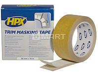 Лента для маскировки молдинга HPX 10 мм / 50 мм x 10 м - коричневая