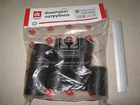 Патрубок радиатора ЮМЗ, Д-65 (к-т 4шт)  DK-1348