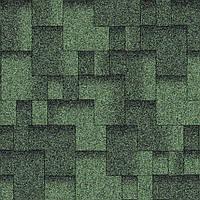 Битумная черепица Aquaizol / Акваизол Акцент Мохито (зеленый + чёрный)