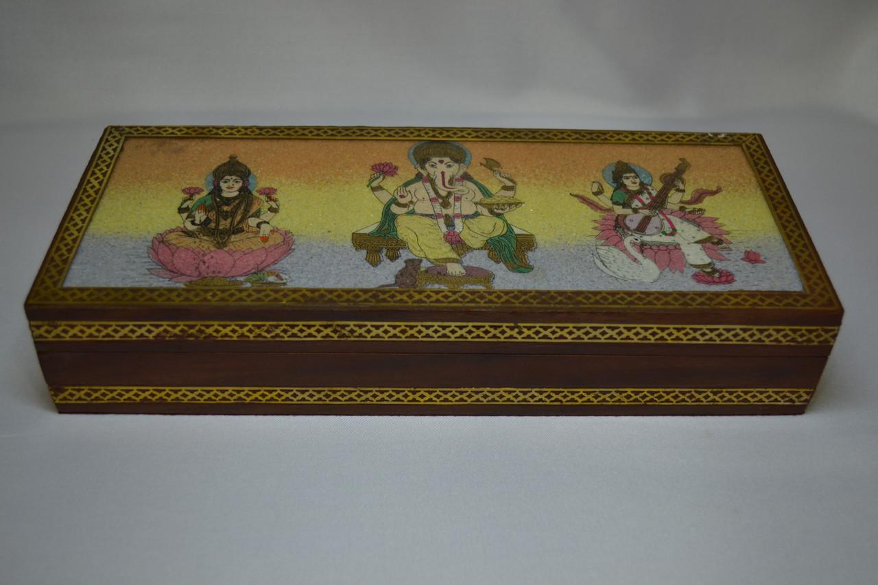 Шкатулка семья божеств(индия)