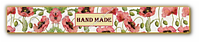 Декоративная полоска для мыла Hand Made Маки