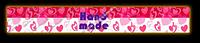 Декоративная полоска для мыла Hand Made Сердечки