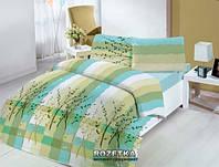 Altinbasak Полуторный комплект постельного белья Аnabella green