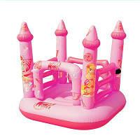 Детский надувной игровой центр Bestway 92010 «Замок Winx»