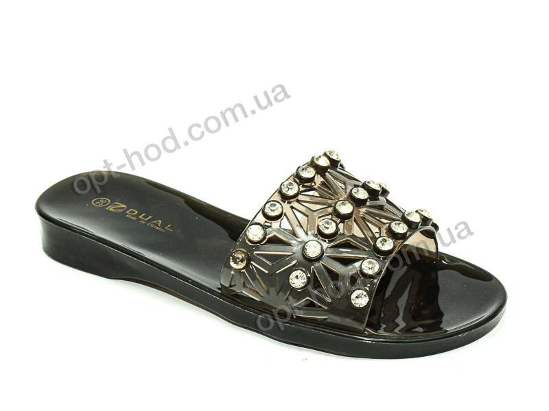 ad6681030 Женские черные шлепки с камнями Purlina (размеры 36 - 41) - Оптовый интернет -