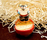 Декоративная фигурка Мышка на арбузе